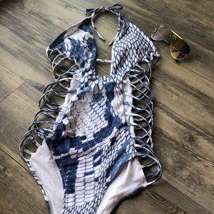 Snake Skin Zaful Bikini
